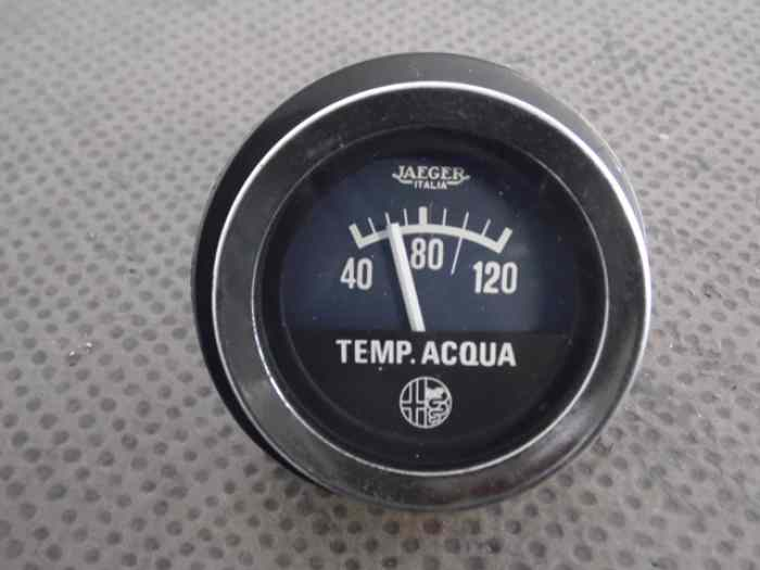 MANOMETRE JAEGER TEMPERATURE EAU ALFA ...