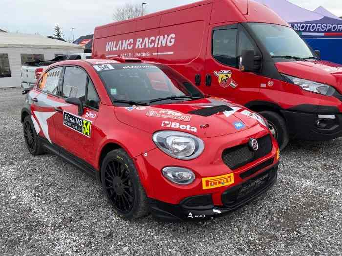 Fiat 500X Rally2 Kit châssis n°2 - Kit R4 Oreca