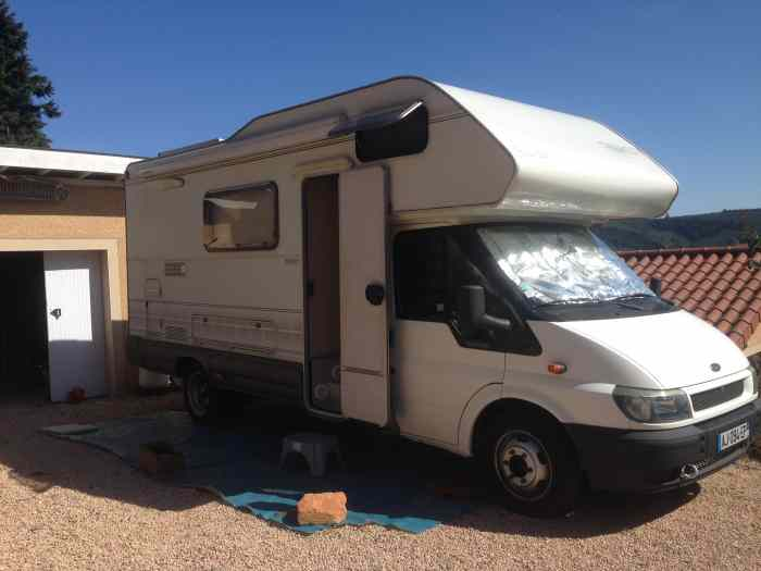 camping car ford rimor 6 places