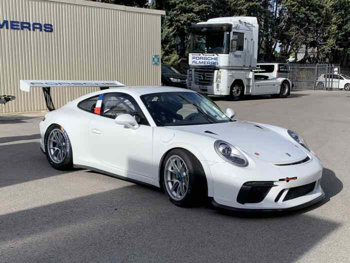 991.2 GT3 cup MY18