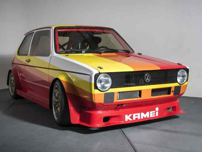 VW Golf Mk1 KAMEI ABF 235 hp. Car is RACE ready. 1