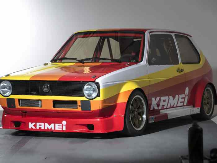 VW Golf Mk1 KAMEI ABF 235 hp. Car is RACE ready. 0