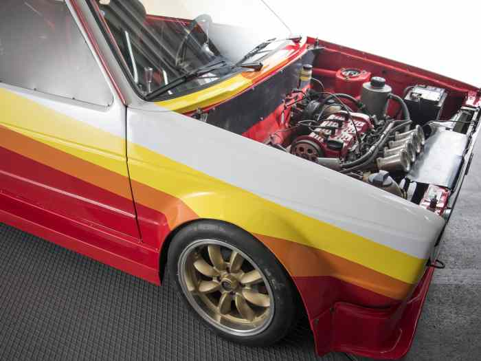 VW Golf Mk1 KAMEI ABF 235 hp. Car is RACE ready. 4