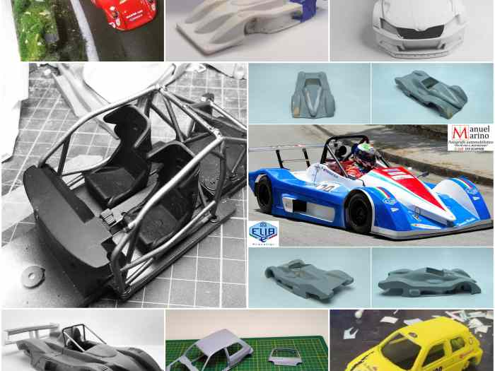 Custom racing model cars